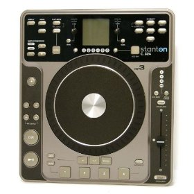 Brand New Stanton C.324 Single Tabletop Cd/mp3 Player with Sound Effects, Looping, Loop Sequencing, Real Time Cd and Mp3 Scratching and Much More (Replaces the C.314, with Major Upgrades)