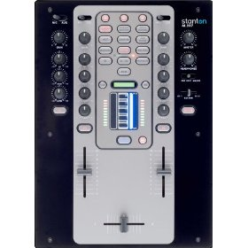 Brand New Stanton M.207 2 Channel Dj Mixer with Built in Effects Glide + Sampler and Totally Advanced Features