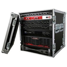 Brand New Tov T-12r 12u Space Vertical Dj Amp Rack Case - Signature Series with Thicker 3/8