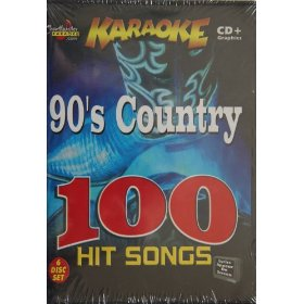 Chartbuster 90's Country Hit Songs - 100 Songs