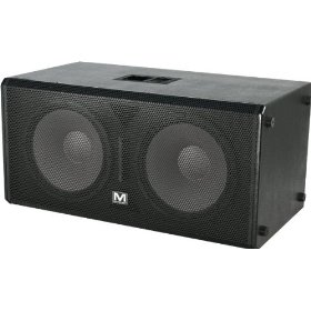 Marathon Entertainer Series ENT-218V2 Texture Coated Dual 18-Inch Subwoofer System