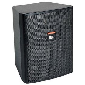 JBL Control 25T Indoor/Outdoor Background/Foreground Speaker Pair, Black