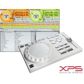 EKS XP-5 Single Deck DJ Controller /Sound Card with Traktor LE