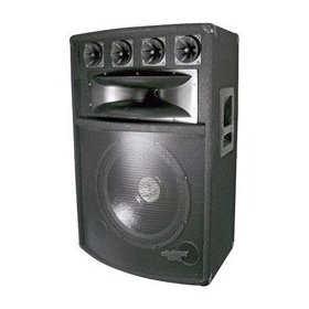 Pyle PADH1889 1000 Watt 18-Inch Seven Way Speaker Cabinet