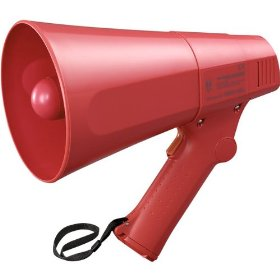 TOA ER-520S Megaphone Compact and Lightweight, High Durability ABS or ASA Resin Construction