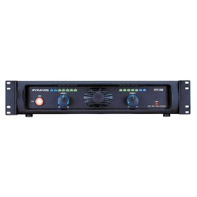 Pyramid XPA360 19-Inch Rack Mount 3600 Watt Powered Amplifier