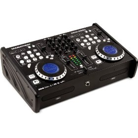 Marathon Dcm-3000 All In One Dual CD Player Mixer Station, MP3 ID Tag Folder Search, Scratch, Brake, Reverse, Dual USB/Dual SD, Anti Shock