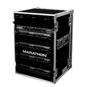 Marathon Flight Ready Case MA-20Uad 20U Amplifier Deluxe Case - 18-Inch Body Dept