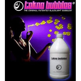 Tekno Bubbles 1/2 Gallon :: UV Reactive Bubbles Refill (Perfect for Bubble Machines!)