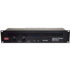 Rolls RA2100b 100 W per Channel into 4 Ohms with 25/70V Audio Distribution Stereo Power Amplifier
