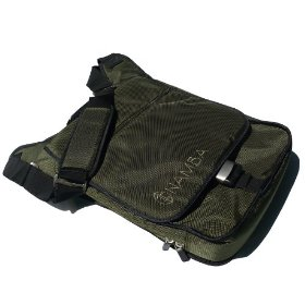 Namba Gear Kava Laptop Studio Bag, High Performance Bag for Musicians & DJs, in Olive Green, KLS-GN