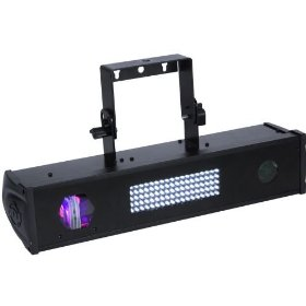 American DJ Fusion FX Bar 4 LED and Green Laser Effect Bar 3 Effects In One