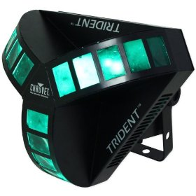 Brand New Chauvet Trident Dmx-512 7 Channel Centerpiece Light with Sound Activated Programs or DMX Controlled