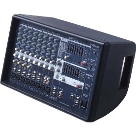 Yamaha EMX512SC Powered Mixer 500 Watts Stereo 12 Channels 3 Band Equalizer Lightweight Design