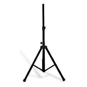 Brand New Technical Pro Ptb30 Black Pole Mount Dj Speaker/monitor Stand + Carry Case