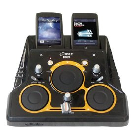 Pyle-Pro - I Mixer Dual Ipod DJ Player with DJ Scratch And Sound Effects