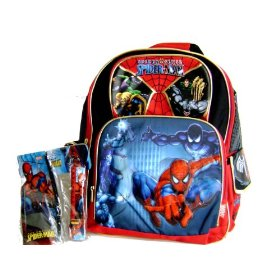 Marvel Spiderman Spider Sense Large Backpack 16