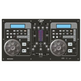 Pyle-Pro PDCDJ380 - Professional Dual CD Player & DJ Mixer
