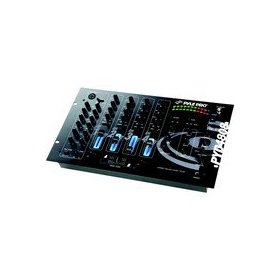 Pyle-Pro PYD4808 - 19'' Rack Mount 4 Channel Professional Mixer with 3-Band EQ Controls and Echo Effects