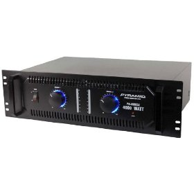 Pyramid PA2000DJ 4000 Watts Stereo Powered Amplifier