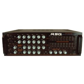 RSQ 600W Mixing Amplifier with 2ch Graphic EQ & AV Selector