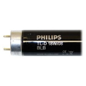General 18080 TLD 18W/08 BLB Black Light Bulb