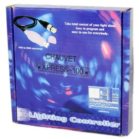 New Chauvet Xpress 100 USB to DMX Interface + Showxpress Lighting Control Software