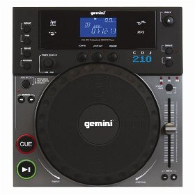 Gemini CDJ-210 Pro CD Player (Standard)