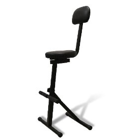 Technical Pro DJ CHAIR Portable DJ Chair (Black)