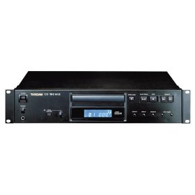 Tascam CD160MKII Rackmount CD Player with MP3 Capability