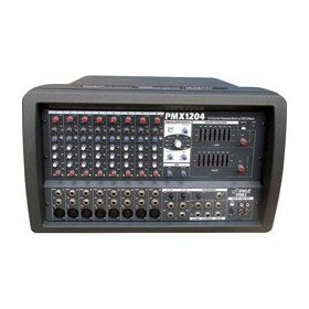 Pyle PMX1204 12 Channel Powered Pa Mixer/Amplifier