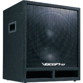 VocoPro  SUB-1500 200W 15-inch Powered Subwoofer