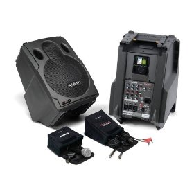 Samson EXL250 Expedition 4-Channel PA System with Ipod Dock, 250 Watts