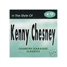 KENNY CHESNEY Country Karaoke Classics CDG Music CD