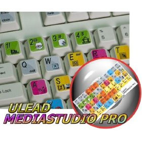 ULEAD MEDIASTUDIO PRO KEYBOARD STICKER FOR DESKTOP, LAPTOP AND NOTEBOOK