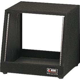 Odyssey CRS12 12 Space Carpeted Studio Rack