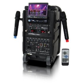 Roadmaster Pro Professional 3-In-One System: Karaoke/PA/Guitar Amplifier