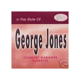 GEORGE JONES Country Karaoke Classics CDG Music CD