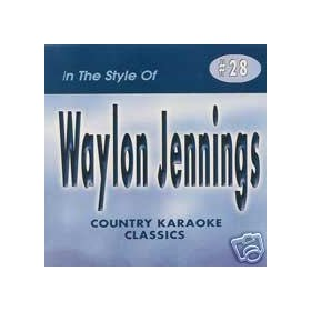 WAYLON JENNINGS Country Karaoke Classics CDG Music CD