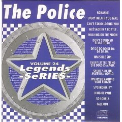 The Police Karaoke Disc - Legends Series CDG VOL 024