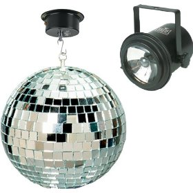 Chauvet MBK-2 Mirror Ball Party Kit