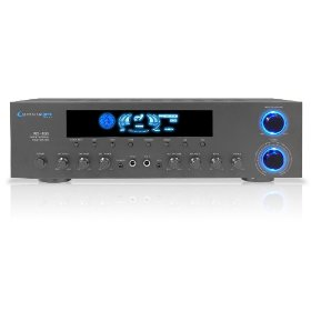 Technical Pro RX-B33   2 Channel 1000 Watt Amplifier (Black)