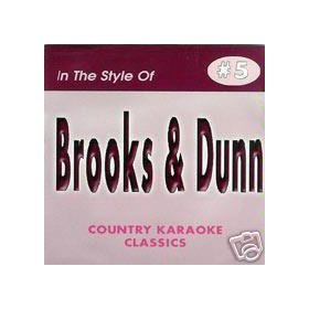 BROOKS & DUNN Country Karaoke Classics CDG Music CD