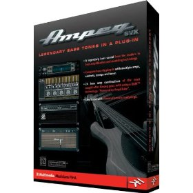 IK Multimedia Ampeg SVX Studio Software/USB Audio Interface Package Powered by Amplitube