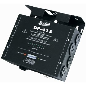 Elation Control DP-415 Four Channel Dimmer Pack, 500 Watts/ch