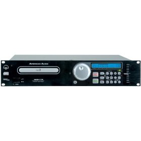 American Audio MCD-110 Two Space Rack Mount Single CD Player