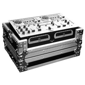 Marathon Case To Hold 1x Numark Cd Mix Station Cd Mix 1, 2, 3, Kmx-01, Kmx-02, Ion Cd Mix Stations. And All Other Similar Type - Size Combo Units