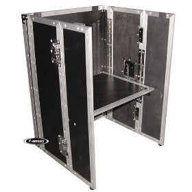 Odyssey CRS30W 30 Space Carpeted Studio Rack With Wheels