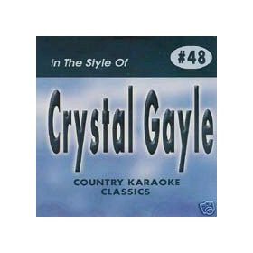 CRYSTAL GAYLE Country Karaoke Classics CDG Music CD