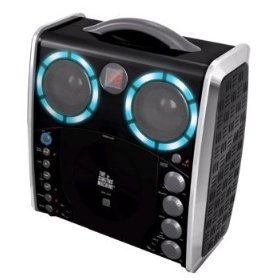 The Singing Machine SML-383 CD/CD+G Karaoke System w/ Disco Lights